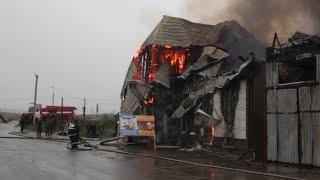 В продуктовом магазине в с. Майма пожарные ликвидировали пожар