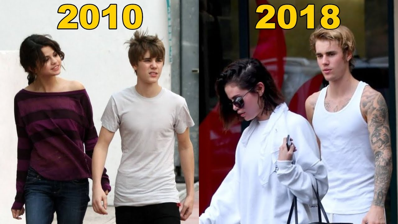 Selena Gomez and Justin Bieber - 8 Years Of Love in One ...