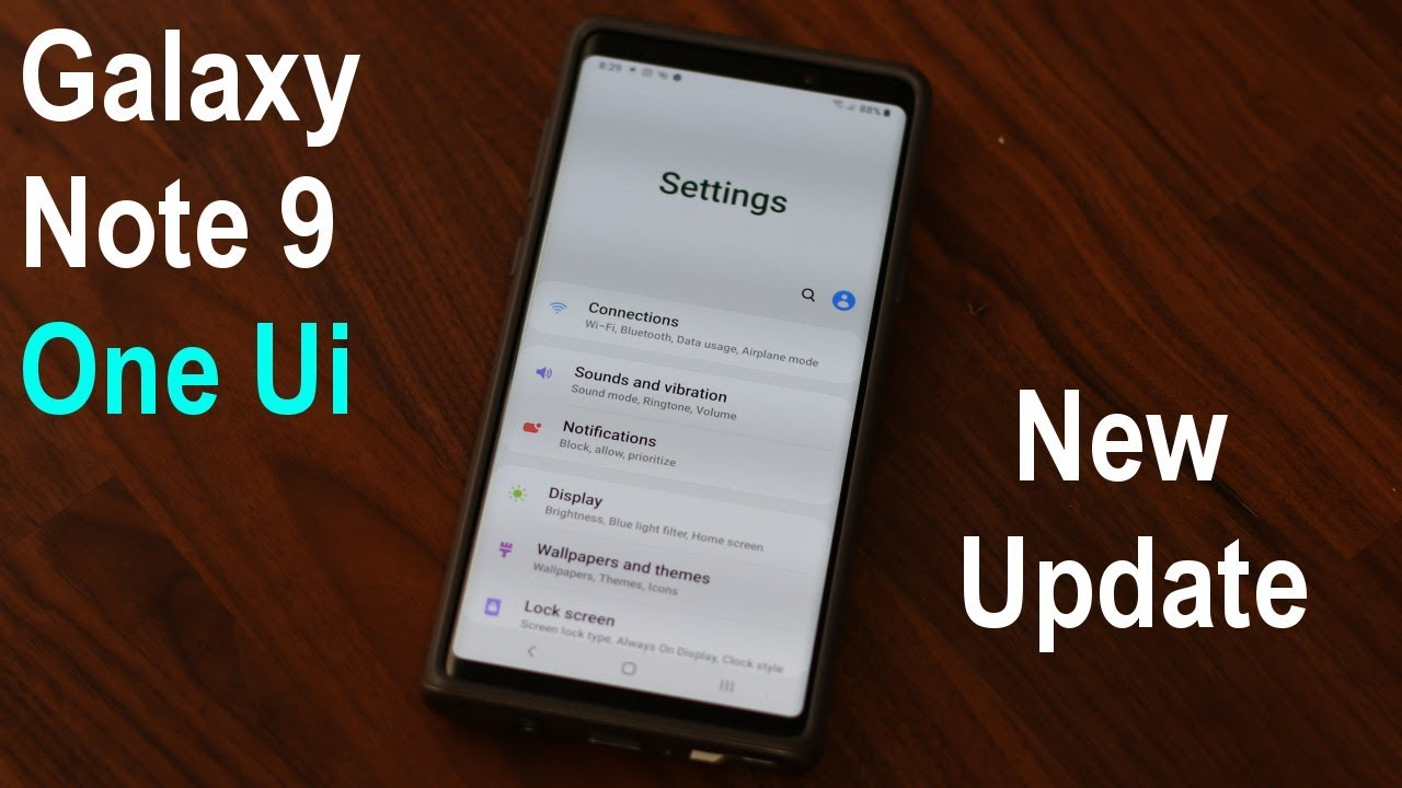 Samsung Galaxy Note 9 One Ui - Incredible New Update (Android 9 0 Pie)