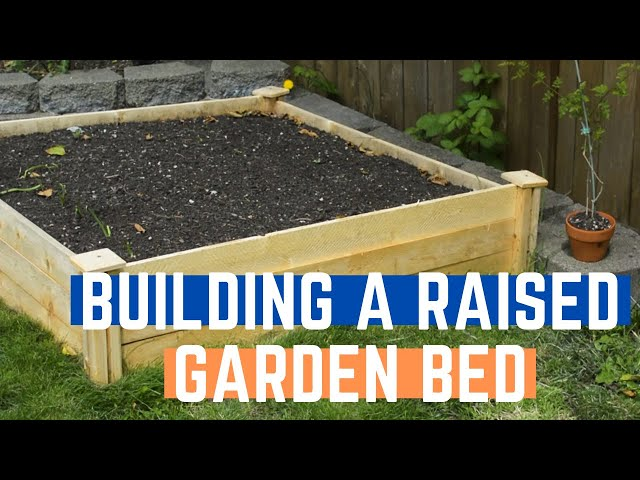 DIY Raised Herb Garden Bed - How to Build an Easy Raised Bed Kit | Transblue Does it Right