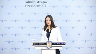 Declaratie de presa a Purtatorului de cuvant al Presedintelui Romaniei, Madalina Dobrovolschi