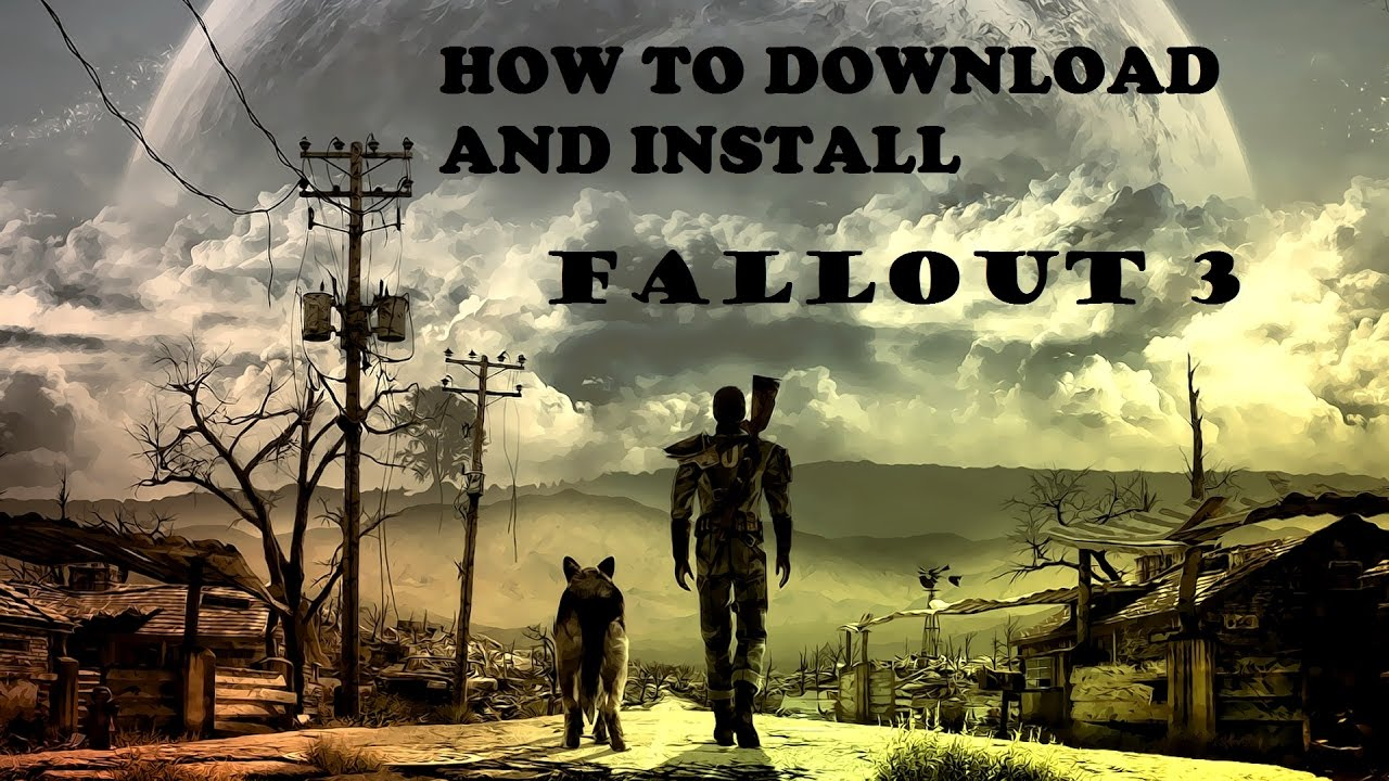 How to download and install fallout 3 game of the year edition.