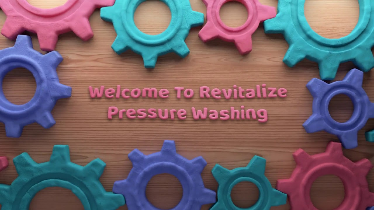 Revitalize Pressure Washing : Gum Removal in Houston