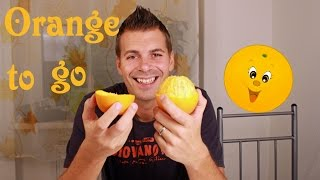 ORANGE HACKS DEUTSCH | dİy how to peel | tutorial - schnell einfach trendy by Bibyyy & Bibyyy