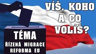 Volby 2017: Víš, koho a co volíš? - Řízená migrace, reforma EU