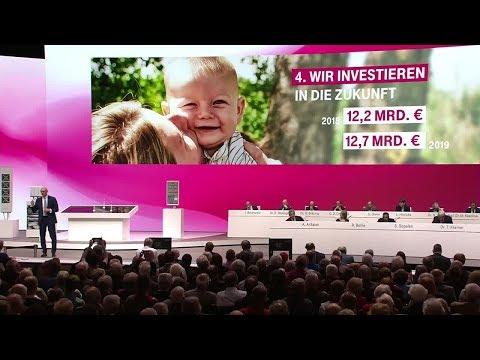 Social Media Post: Deutsche Telekom Hauptversammlung 2019
