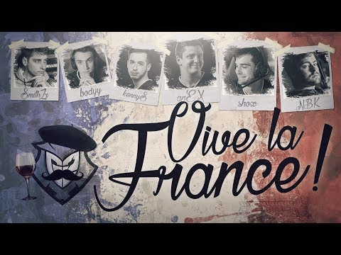 G2 Esports: Vive La France! shox, kennyS and others offer their take on the French stereotypes