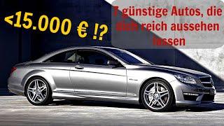 7 günstige Autos, die dich reich aussehen lassen | G Performance
