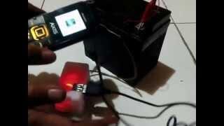 kreatif charger hp usb dimotor dari pembungkus katrid