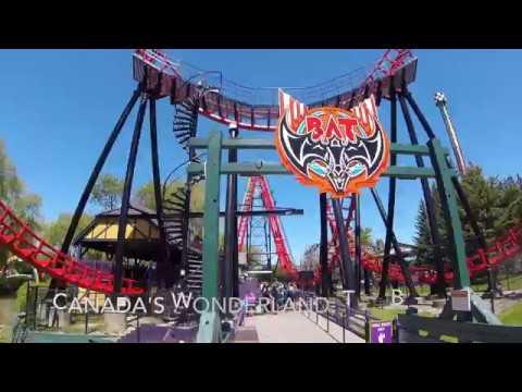 Canada's Wonderland, The Bat 2017 - POV GoPro