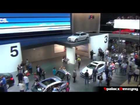 BMW in Frankfurt 2011 International Motor Show IAA Germany - Spalacz Benzyny