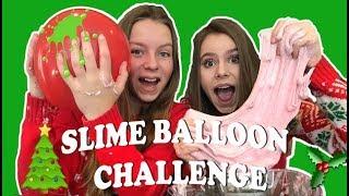 SLIME BALLOON CHALLENGE! - SLIJM MAKEN MET BALLONNEN - KERSTEDITIE