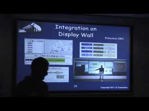Talk at Facebook by G. Tzanetakis June 2011