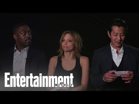 Falling Water: David Ajala, Lizzie Brocheré & Will Yun Lee Describe The   Entertainment Weekly