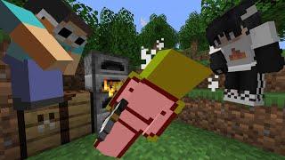 Фото Minecraft Speedrunner VS 2 Assassins