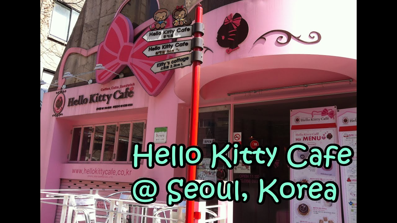 Hello Kitty Restaurant South Korea