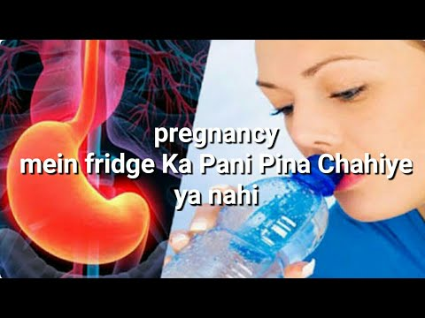Drink Cold Water During Pregnancy !!
