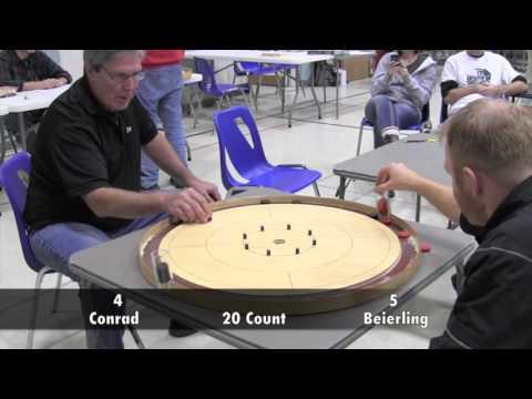 2016 Owen Sound Crokinole Final - Conrad v Beierling