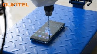 OUKITEL K4000 Gets Drill test, Tough Screen, Safe Battery, Powerful Performance!