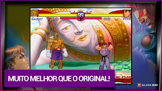 O incrível HACK ROM de Street Fighter Alpha 2 - SNES