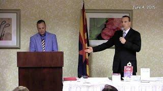 Sen. Andy Biggs and Mr. Dustin Romney Debate Article V - June 4, 2015