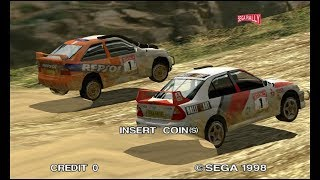 Sega Rally 2 DX - Supermodel r761 (Attract Mode)