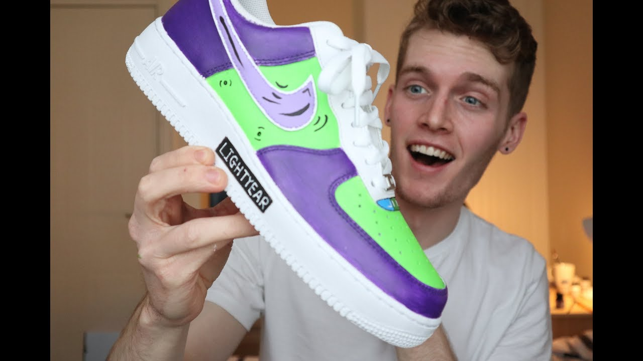 Buzz Lightyear Nike AF1 Custom