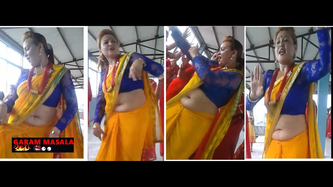 Download desi aunty fat big belly deep navel aunty hot dance performance