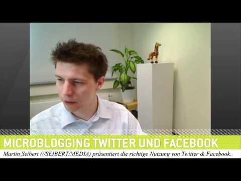 Microblogging - Wie wir Twitter Facebook und Co. nutzen