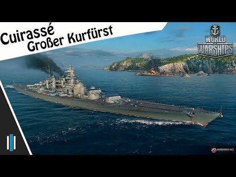 World Of Warships - Cuirassé Großer Kurfürst - 0.7.2 - Gameplay [FR]