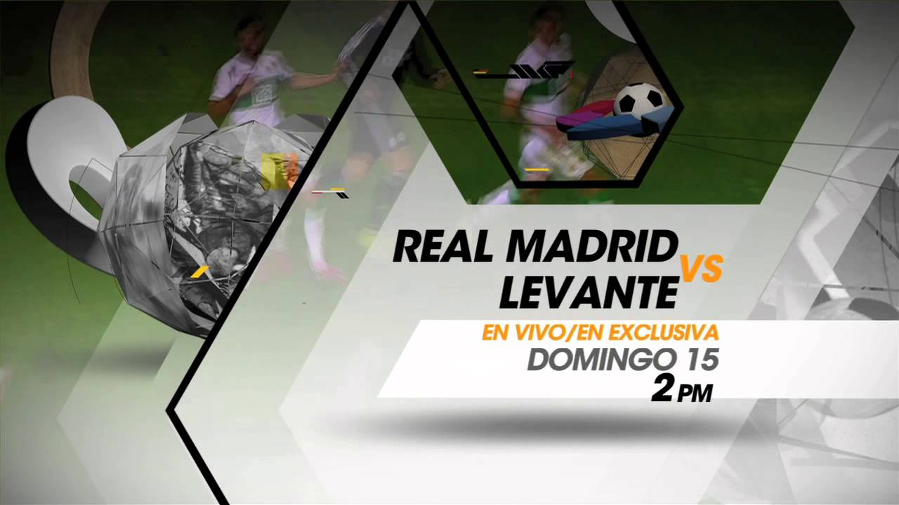 Real Madrid vs Levante en TDN - YouTube