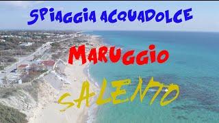 La spiaggia di acquadolce regala dei colori e profumi unici. si trova a maruggio in provincia taranto. un piccolo paradiso dune, sabbia bianca ma...