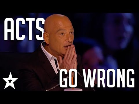 Oops Acts Go WRONG on Got Talent  Got Talent Global
