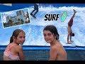 Les enfants surfent au Margaritaville Hollywood