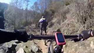 MTB - HD Gimbaled chest mount cam on the Confluence Trail - Auburn CA