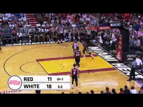 Dwyane Wade Full Highlights   Miami Heat Scrimmage   NBA 2014 2014 2014 15 Season