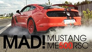 HOONIGAN | FORD MUSTANG ME500RSC | DRIVE IT LIKE YOU STOLE IT
