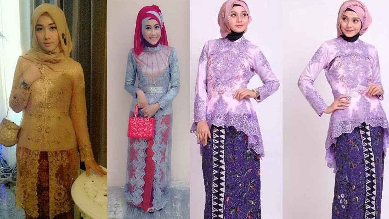 Model Kebaya Muslim Modern Untuk Wisuda Terbaru