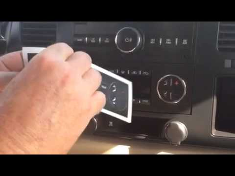 Worn Peeling Flaking A/C Climate Control Button Repair Fix Stickers Tahoe Yukon Acadia Enclave