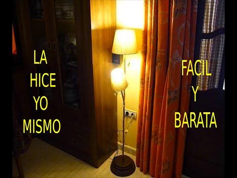 Lámpara De Pie Por Tarusdy Como Hacer Youtube