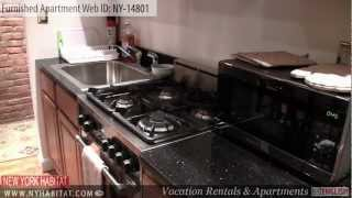 Manhattan, New York City - Video Tour Of A Furnished Apartment On West 119th Street (harlem)