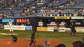 ①2013年8月2日に京セラドーム大阪で行われたオリックスバファローズ対千...