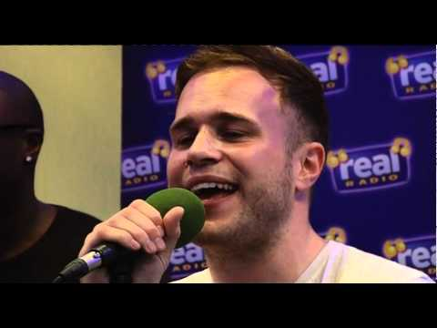 Olly Murs - Thinking of Me LIVE (Real Radio Band in the Boardroom)
