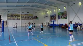 Волейбол. Первенство Краснодарского края 2017 дев. 2005-2006 г.р. Абинск - Староминская 3:0