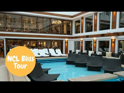 Norwegian Bliss Ship Tour Including Haven Forward Facing Penthouse With Balcony