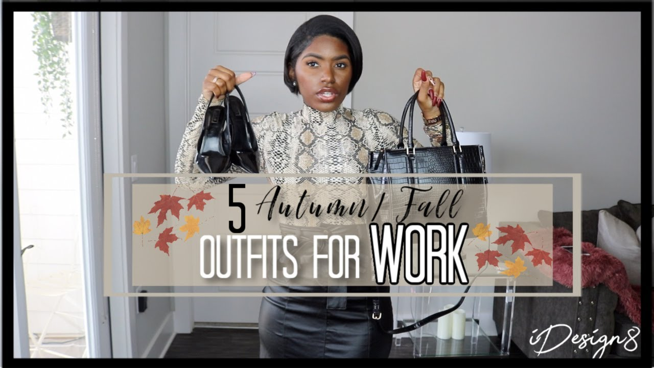 [VIDEO] - 5 FALL OUTFITS FOR WORK 2019 TRY ON HAUL | HIGHLY REQUESTED | iDESIGN8 5