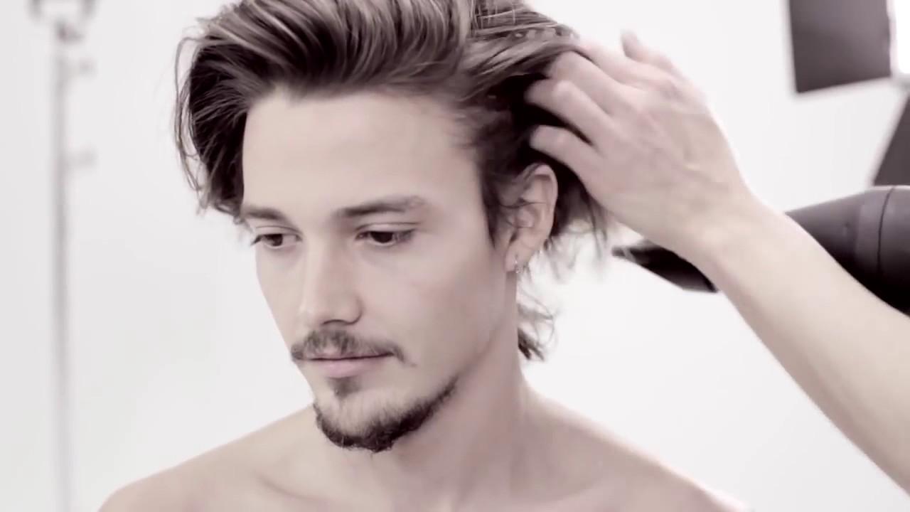 Hogy Készült A Félhosszú Férfi Frizura Bed Head For Men Módra Youtube