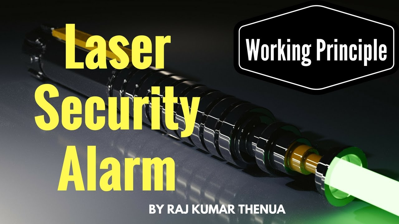 How Does A Laser Security System Circuit Works   Hindi