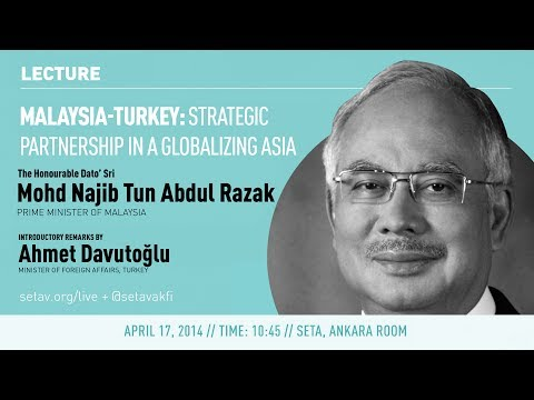 Lecture | Turkey-Malaysia: Strategic Partnership In a Globalizing Asia