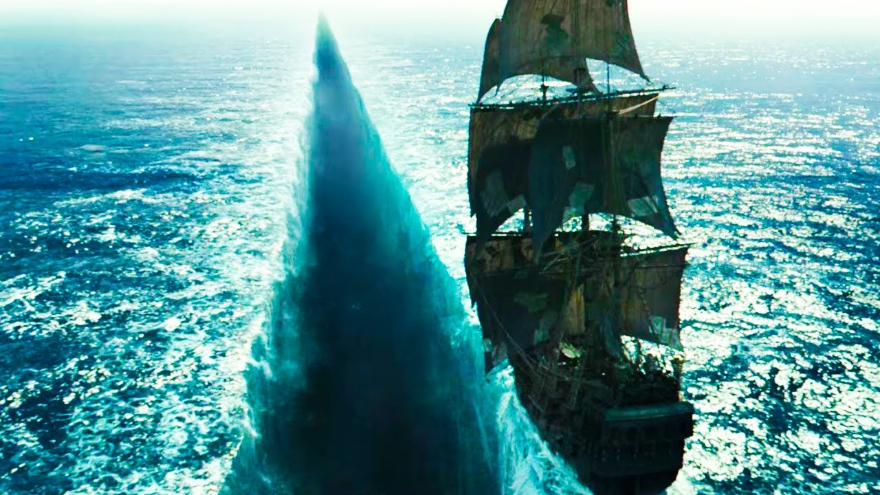 Pirates Of The Caribbean 5 2017 Carina Parts The Seaocean To Find